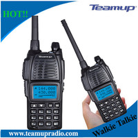New unique style Teamup TUV10 VHF UHF 128CH Professional FM Walkie Talkie Specification for sale