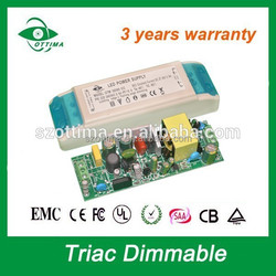350mA power supply constant current triac dimmable led down light driver
