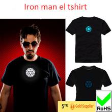 2015 brand name DJ music tshirts wholesale iron+man tshirt