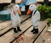 Popular christmas wood craft patterns natural wooden duck hand carved hand painted ducks wood craft