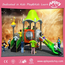 The most popular plastic kids outdoor playground with mini style design for child playing toys and games AP-OP10806