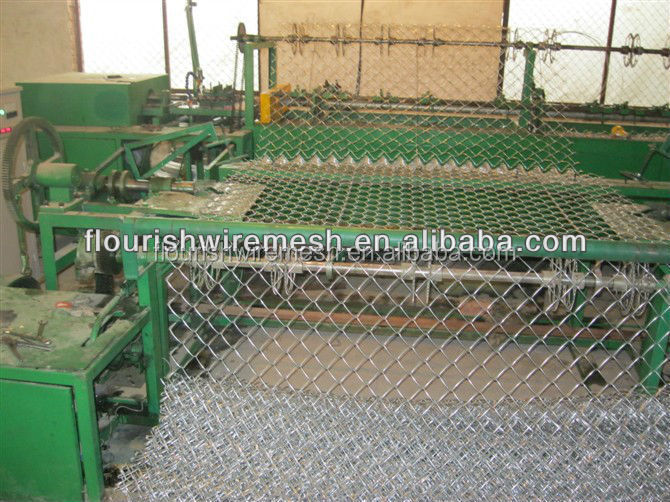 Chain link fence covering view jinbang