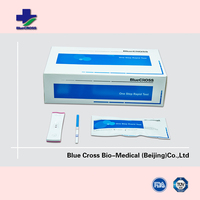 One-step HCG Urine Pregnancy Plastic Rapid Test Cassette, Pregnancy Test Midstream
