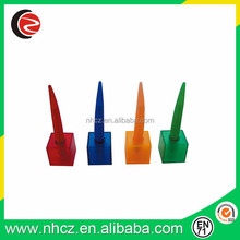 Promotion office plastic ball pen with base