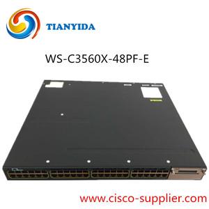 Yeni Mühürlü Cisco 3560x48 Port POE + GE Anahtarı WS-C3560X-48PF-E
