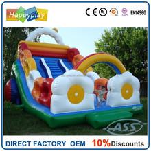 inflatable slide slip and slide kids slide