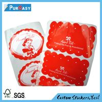 removable window film static cling sticker printing