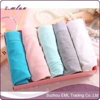 Sexy women pure cotton underwear seamless panties wholesale