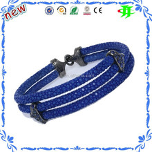 Best brand wholesale fashion bracelets jewelry luxury stingray bangle