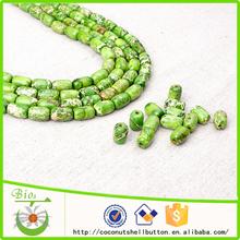La muestra libre verde imperial jasper piedra granos venta al por mayor a granel