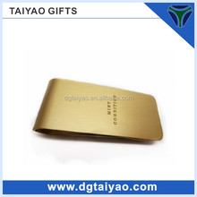 money clip card holder flat small metal clip for promotion