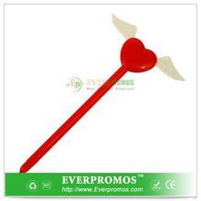 Novelty Design Winged Heart Pen For Fun