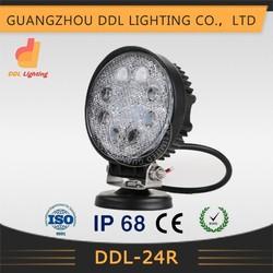 HOT SALE!!! china manufacturer 4.5inch LED Work Lights, ip68 led work lights, 24w led working lights off road