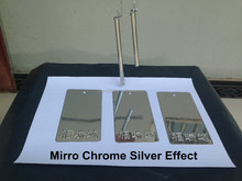 Spray paint mirror chrome silver effect powder coating paints