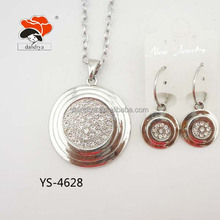 2014 High Quality Hot Sale Round Pattern Graceful Jewelry set