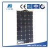 Competitive price and high quality 100w semi flexible solar panel for boat