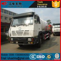 SHACMAN AOLONG sewage suction truck 12Ton 4x2 vacuum truck
