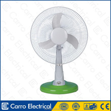 Safe operation 12volt 35w solar powered table air cooler electric fan electric fan internal parts