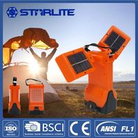 STARLITE rechargebale solar lantern 1800mAh battery camping solar light with usb