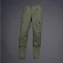 Green Outdoor Force 10 Cargo Utilities Sports Pants, Mouth Closing Rope Design, Easy to Wear