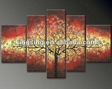 Beauty hand-painted scenery painting
