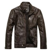 2013 Men Leather Jacket Motorcycle Biker Customized Service