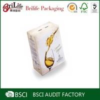 Professional Custom Wholesale wine glass gift bags