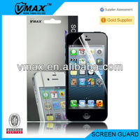 """For iphone 5"""" accessories oem/odm (High Clear)"""