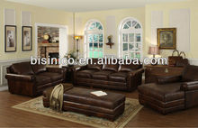 Classical leisure leather sofa chair,genuine leather living room furniture,recliner sofa (BF01-20102)