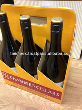 WINE CARRIER AND BEER 6 PACK CARRIER