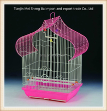 Chinese cheap price metal wire folding portable bird breeding cage wire bird breeding cage