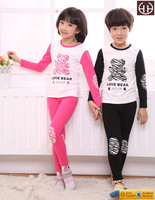 Boy kids Clothes Toddler Set Top Shirt and Pants children homewear baby clothes