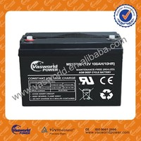 best quality hot sale Chinese wholesale price 12v 100ah lead acid storage recharge portable battery gel for solar ups