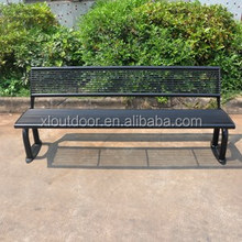 Outdoor furniture steel bench