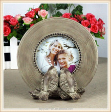 Wedding Favors Resin Bird Statue Mini Photo Frame for crafts and gifts