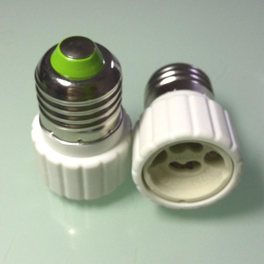10шт e27 для gu10 привело socket адаптер конвертер e27-gu10 привело лампа держатель лампы базы лампа база расширителя