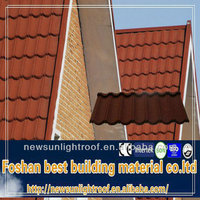 High quality antique metal roof tiles/light weight spanish tile roof/clay roof ridge tile