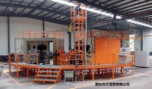 Rotomolding Machine to produce oil or water tank