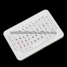 54 keys 10m protable pocket mini wireless bluetooth Backlit keyboard for iphone for tablet pc,phone