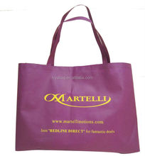 Cheap New product Recycle purple non woven shopping bag