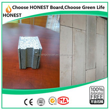 CE approved building construction materials eps sandwich precast concrete wall