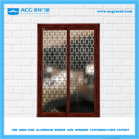 Low price aluminum sliding glass door,used sliding glass doors sale