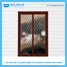 Low price aluminum sliding glass door,used sliding glass doors sale