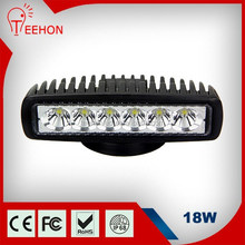 6 inch square 18w led worklight