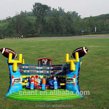 outdoor inflatable sport games bungee basketball
