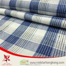 Customized check 2015 cotton fabric