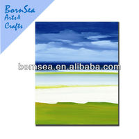 Countryside natural scenery picture canvas printing oil painting reproduction