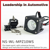 10W super bright Motorcycle led off road driving light accessories work lamp