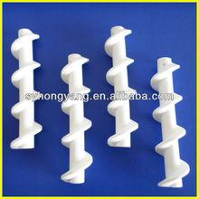 99% Al2O3 Fine Alumina Ceramic Screw For Industry