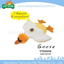 Cartoon animal squeaky chicken dog toy